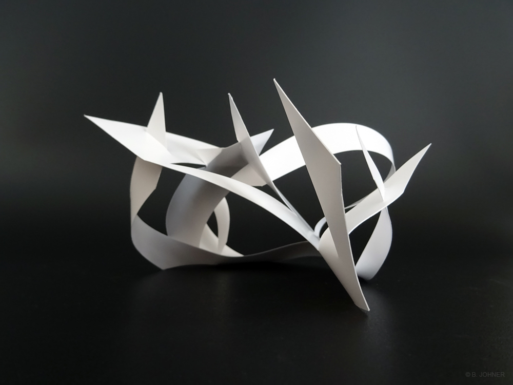Sans nom, Maquette en plastique. 21 x 29,7 x 18 cm. 2016