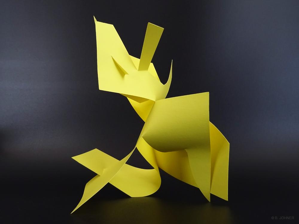 Sans nom, Maquette en plastique. 21 x 29,7 x 25 cm. 2016
